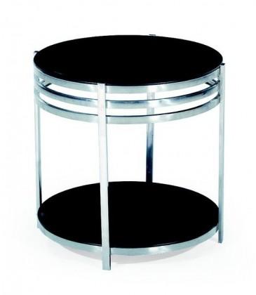 Konferenční stolek - skleněný Dixie(černá)