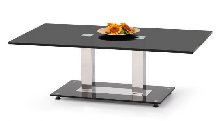 Konferenční stolek - skleněný Julia 2(černá)