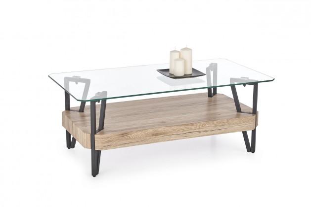 Konferenční stolek - skleněný Konferenční stolek Abrilla (sklo)