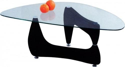 Konferenční stolek - skleněný Konferenční stolek Karen (wenge)