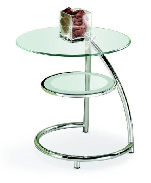 Konferenční stolek - skleněný Luna(sklo)