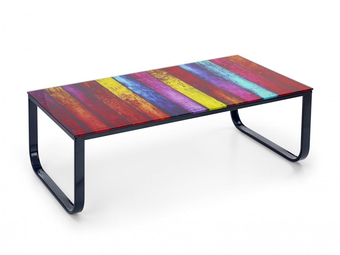 Konferenční stolek - skleněný Pandora - konferenční stolek