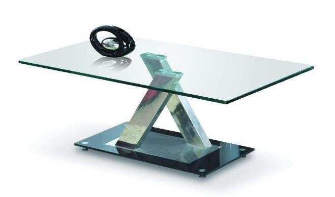 Konferenční stolek - skleněný Xara(sklo)