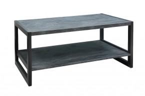 Konferenční stolek ST202004 mramor uhelný / černá