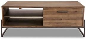 Konferenční stolek Sturla - 120x45x75 cm (hnědá)