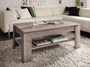 Konferenční stolek Universal (dub san remo tmavý)