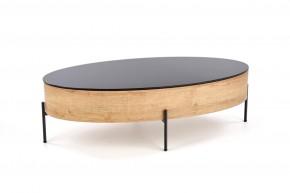 Konferenční stolek Wald (dub, černá)