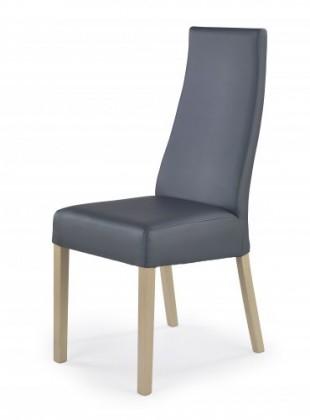 Kordian - Jídelní židle (šedá, dub sonoma)
