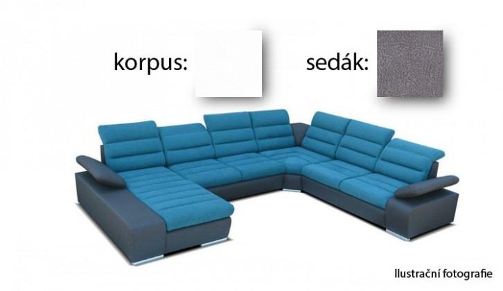 Korfu - levý roh, 2+2+relax (soft 17 / aruba 18)