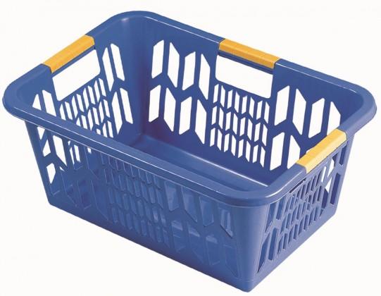Koš na čisté prádlo 1102, modrá
