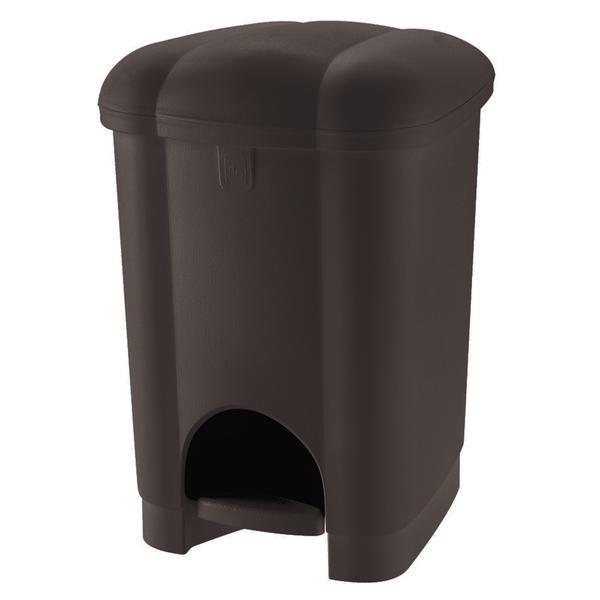 Koš na odpadky Carolina, 16l (hnědá)