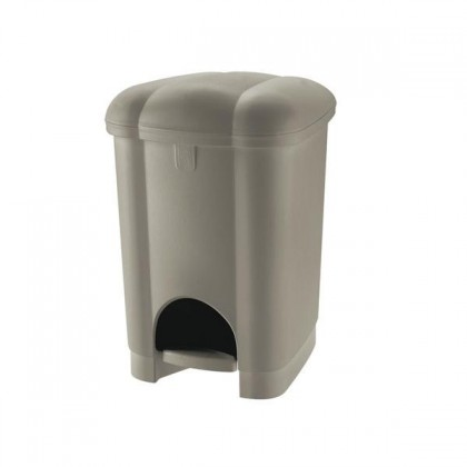 Koš na odpadky Carolina, 6l (hnědá)