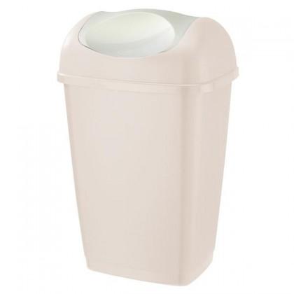 Koš na odpadky Grace, 15l (krémová)