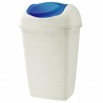 Koš na odpadky Grace, 15l (modrá, bílá)