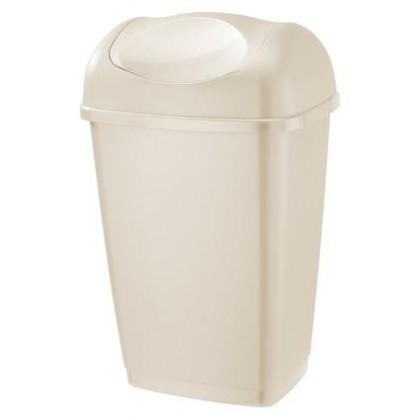 Koš na odpadky Grace, 25l (krémová)