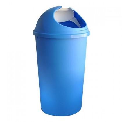 Koš na odpadky Hoop, 25l (modrá, bílá)