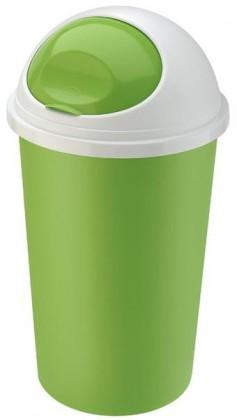Koš na odpadky Hoop, 25l (zelená, bílá)
