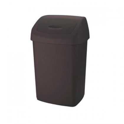Koš na odpadky Swing, 15l (hnědá)