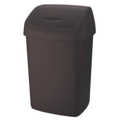 Koš na odpadky Swing, 25l (hnědá)