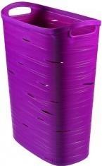 Koš na prádlo Ribbon 49l fialový