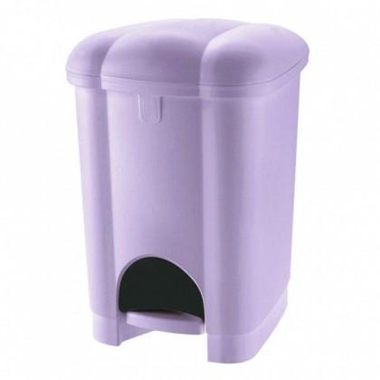 Koš odpadkový, nášlapný, 30l  (fialová)