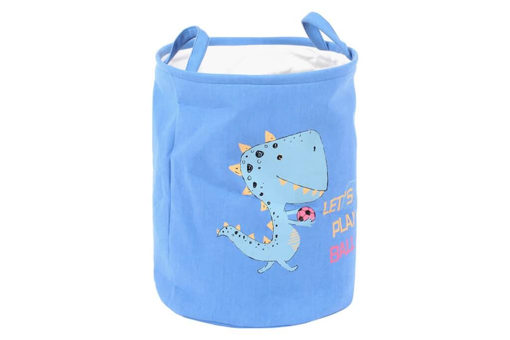 Košíky Dětský koš na prádlo (modrá)