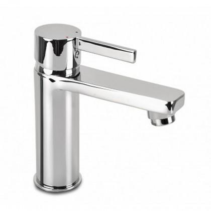 Koupelny ZLEVNĚNO Flaks - Umyvadlová baterie s automatickou výpustí (chrom)