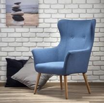 Křeslo Cotto modrá - II. jakost
