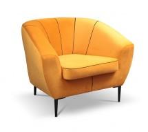 Křeslo Ladon oranžová