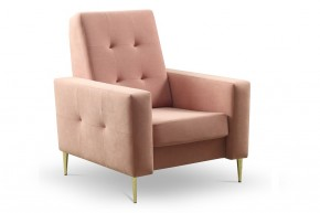 Křeslo Zara růžová