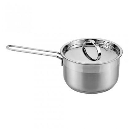 Kuchyně, jídelny Cassida - Rendlík s poklicí, 16x9,5cm, 1,9L (stříbrná)