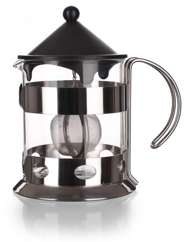 Kuchyně, jídelny Konv. na čaj se sít. 1,2l amber, stříbrná