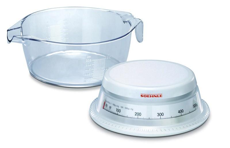 Kuchyně, jídelny Mechanická kuchyňská váha Vario (čirá)