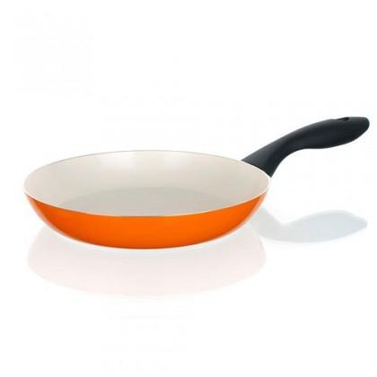 Kuchyně, jídelny Natura Ceramia - Pánev, 20cm (oranžová, bílá)