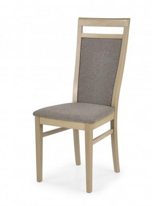Kuchyně, jídelny ZLEVNĚNO Damian - Jídelní židle (světle hnědá, dub sonoma)