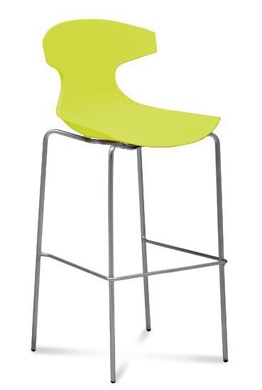 Kuchyně, jídelny ZLEVNĚNO Echo - Barová židle (pistáciová)