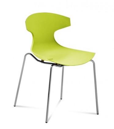 Kuchyně, jídelny ZLEVNĚNO Echo - Jídelní židle (zelená pistáciová)