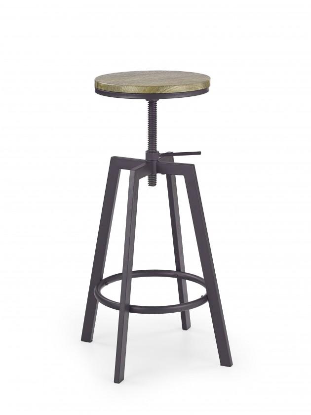 Kuchyně, jídelny ZLEVNĚNO H64 - Barová židle (hnědá)