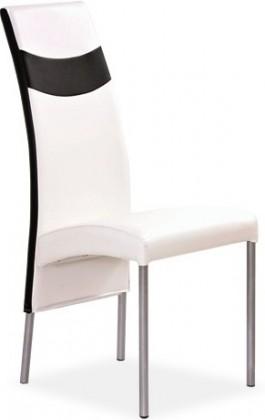 Kuchyně, jídelny ZLEVNĚNO K51 - Jídelní židle (černá, bílá)