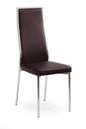 Kuchyně, jídelny ZLEVNĚNO K86 - Jídelní židle (tmavě hnědá)