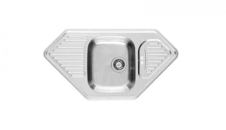 Kuchyně, jídelny ZLEVNĚNO Medusa Corner 1B 2D (New) - výtok.otvor 150 mm