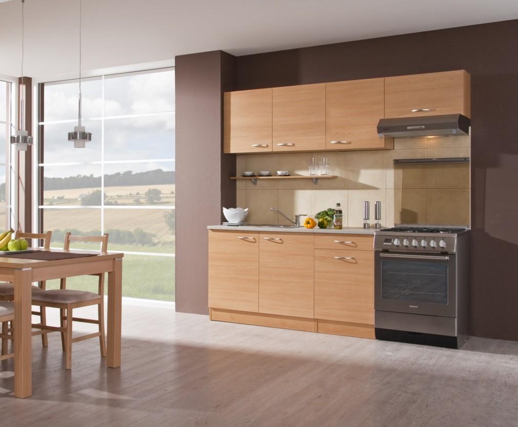 Kuchyně, jídelny ZLEVNĚNO Nina 210 C (buk)