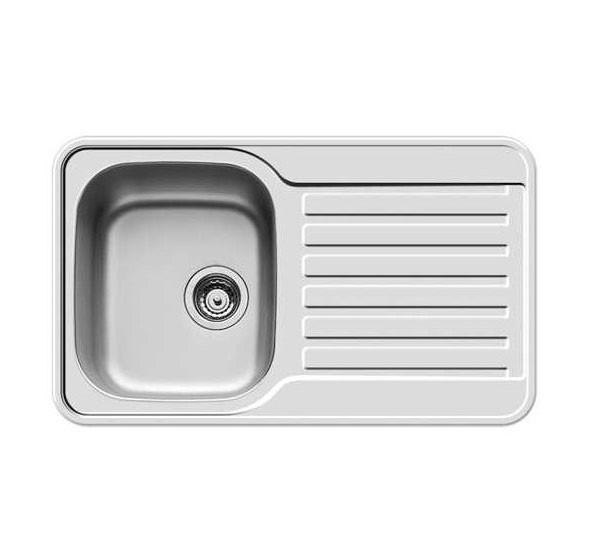 Kuchyně, jídelny ZLEVNĚNO Space Mini 1B 1D - dřez, výtok.otvor 92 (800x480)