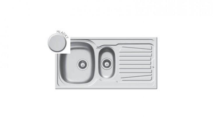 Kuchyně, jídelny ZLEVNĚNO Sparta 1 1/2B 1D - výtok.otvor 92 (1000x500)