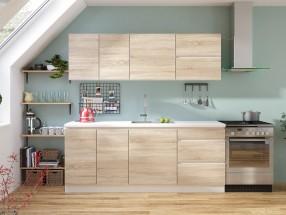 Kuchyně Line 200 cm (dub sonoma)