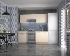 Kuchyně Marija - 200 cm (vanilka/dub sonoma/bílá)