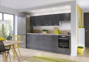 Kuchyně Modern Lux - 240 cm (šedá)