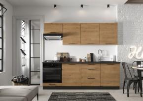 Kuchyně Natali 240 cm (dub lefkas) - II. jakost