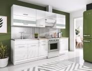 Kuchyně Rio - 240 cm (bílá)