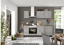 Kuchyně Ute 220 cm (světlý beton)